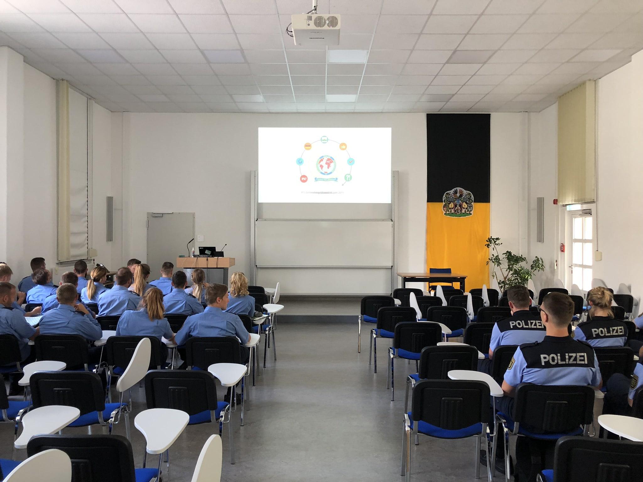 Teilnehmer der Informationsveranstaltung in der PFS Schneeberg am 17. Juni 2019