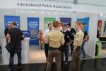 reger Betrieb am Messatsnd der IPA-Sachsen-Anhalt und Sachsen